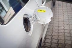 Coche del combustible Imagen de archivo libre de regalías