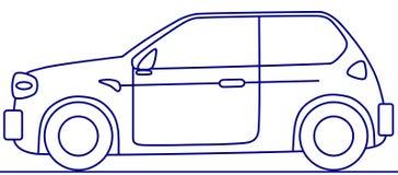 coche del concepto Imagen de archivo