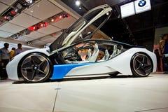 Coche del concepto de BMW en el international Autoshow de Moscú imagen de archivo libre de regalías