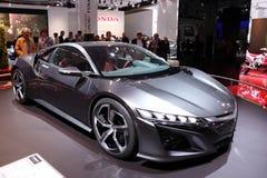 Coche del concepto de Honda NSX fotos de archivo libres de regalías