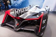 Coche del concepto de Hyundai Muroc en el IAA 2015 Imágenes de archivo libres de regalías