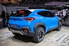 Coche del concepto de la adrenalina de Subaru Viziv foto de archivo