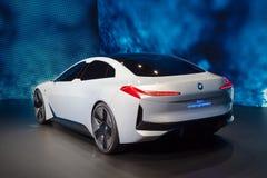 Coche del concepto de la dinámica de BMW i Vision imagen de archivo