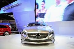 Coche del concepto de Mercedes A Foto de archivo libre de regalías