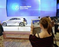 Coche del concepto de Mercedes A Fotos de archivo libres de regalías