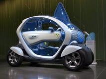 Coche del concepto de Renault Twizy Foto de archivo libre de regalías