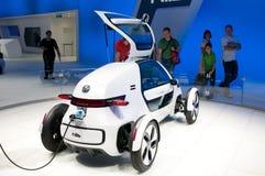 Coche del concepto de VW NILS de Volkswagen en IAA 2011 Fotografía de archivo
