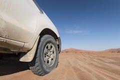 Coche del desierto Fotos de archivo libres de regalías