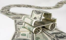 Coche del dinero Imágenes de archivo libres de regalías