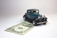 Coche del dinero Foto de archivo