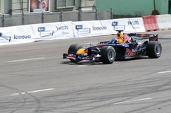 Coche del Fórmula 1 Fotos de archivo libres de regalías