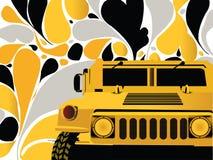 Coche del Hummer Fotografía de archivo libre de regalías