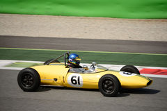 Coche 1962 del joven de la fórmula de Lotus 22 Foto de archivo libre de regalías