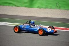 Coche 1962 del joven de la fórmula de Lotus 22 Fotografía de archivo