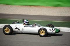 Coche 1962 del joven de la fórmula de Lotus 22 Fotos de archivo