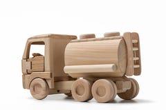 Coche del juguete con el depósito de gasolina Imagenes de archivo