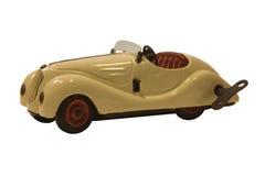 Coche del juguete de la vendimia Imagenes de archivo