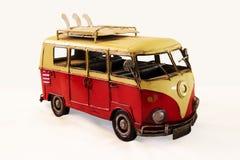 Coche del juguete del vintage Fotografía de archivo libre de regalías