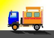 Coche del servicio de emergencia Fotografía de archivo