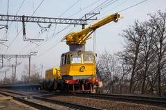 Coche del servicio ferroviario Imagen de archivo libre de regalías