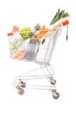 Coche del supermercado Imagenes de archivo