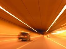 Coche del túnel imagen de archivo libre de regalías