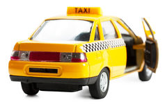 Coche del taxi Fotos de archivo libres de regalías