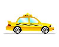 Coche del taxi imagenes de archivo