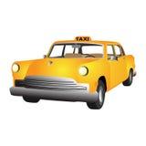 Coche del taxi del vector Ilustración del Vector