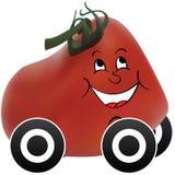 Coche del tomate Imagenes de archivo