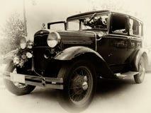 Coche del vintage Fotografía de archivo libre de regalías