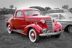 Coche del vintage de Chevrolet del americano Imagen de archivo libre de regalías