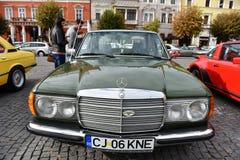 Coche del vintage de Mercedes de Alemania fotografía de archivo libre de regalías