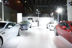 Coche deportivo de Aston Martin Fotos de archivo libres de regalías