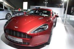 Coche deportivo de Aston Martin Rapide Imágenes de archivo libres de regalías