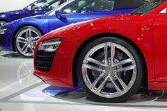 Coche deportivo de Audi Imágenes de archivo libres de regalías