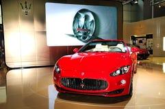 Coche deportivo de Maserati GranCabrio Fotografía de archivo