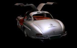 Coche deportivo 1955 de Mercedes Benz 300 SL Imágenes de archivo libres de regalías