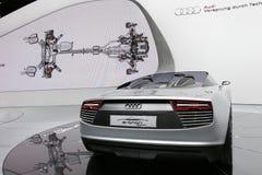 Coche deportivo eléctrico del e-tron de Audi Imagen de archivo