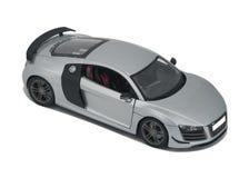 Coche deportivo modelo de plata Imagen de archivo