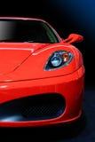 Coche deportivo rojo Fotografía de archivo
