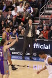Coche Doug Collins de NBA imagenes de archivo