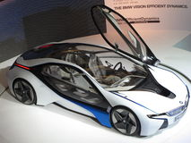 Coche eficiente del concepto de la dinámica de la visión de BMW foto de archivo
