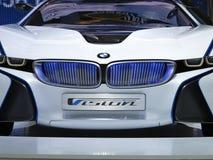 Coche eficiente del concepto de la dinámica de la visión de BMW foto de archivo libre de regalías