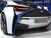 Coche eficiente del concepto de la dinámica de la visión de BMW fotos de archivo libres de regalías