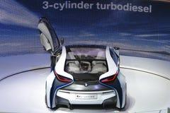 Coche eficiente del concepto de la dinámica de la visión de BMW fotos de archivo