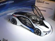 Coche eficiente del concepto de la dinámica de la visión de BMW imágenes de archivo libres de regalías