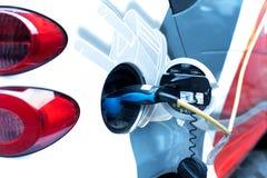 Coche eléctrico Foto de archivo libre de regalías