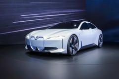 Coche eléctrico de la dinámica de BMW i Vision en el salón del automóvil de IAA Francfort fotos de archivo libres de regalías