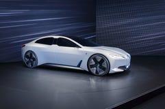 Coche eléctrico de la dinámica de BMW i Vision en el salón del automóvil de IAA Francfort imagenes de archivo